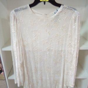 Vintage bead shirt